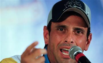 """Capriles: Venezuela """"puede explotar en cualquier momento"""""""