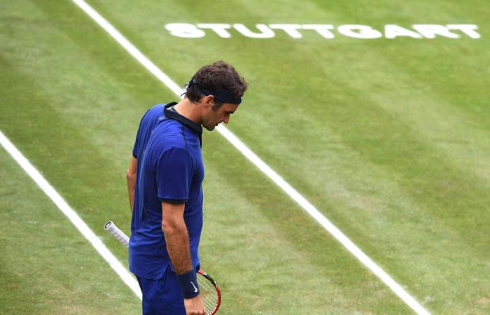 Federer es actualmente No 3 de la ATP. Foto: EFE