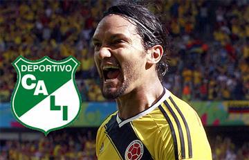 Abel Aguilar firma con el Deportivo Cali