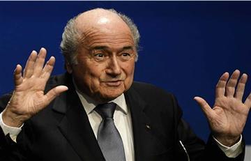 Blatter confirmó fraudes en torneos de fútbol