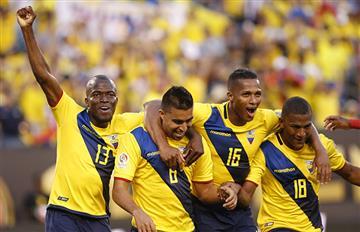 Ecuador venció a Haití y lo despidió con goleada