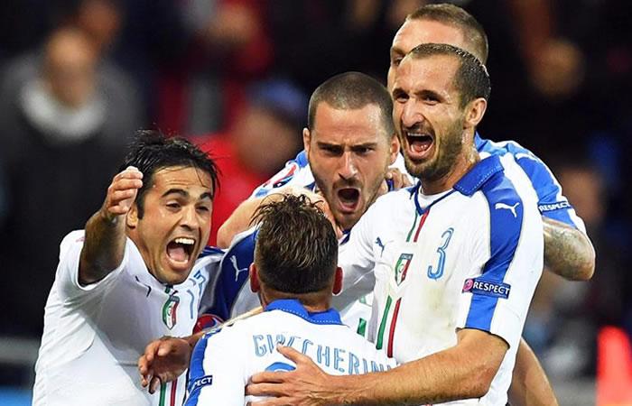 Eurocopa 2016: Italia derrotó a Bélgica
