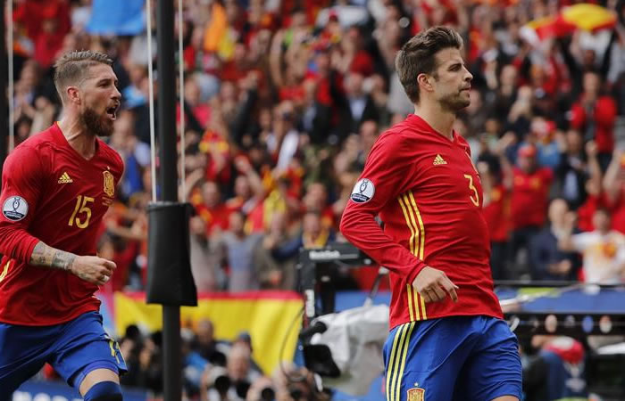 Eurocopa 2016: Piqué le dio la victoria a España