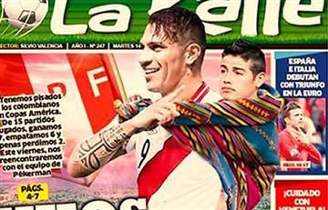 Copa América 2016: diario peruano se burla de Colombia
