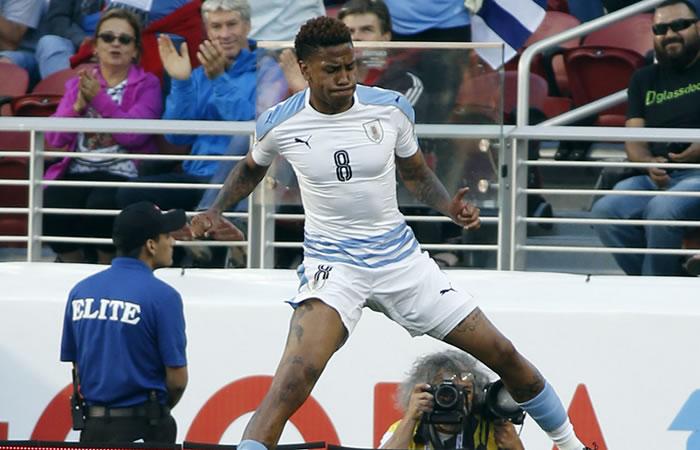 Uruguay se despidió con victoria de la Copa Centenario. Foto: EFE