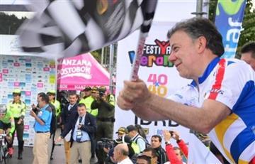 Vuelta a Colombia: Santos estará en los Montes de María