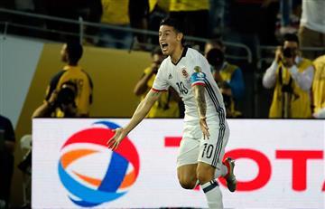 James entre los más lindos jugadores de la Copa América