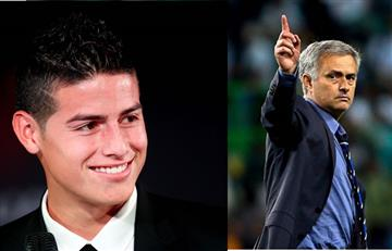 James Rodríguez recibe increíble promesa de José Mourinho