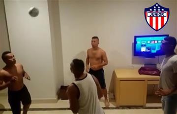 Junior vs. Medellín: así se divierten los jugadores del 'tiburón' antes de la final