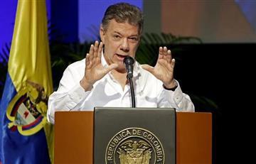 """Santos: """"En Colombia los medios no tienen restricciones"""""""
