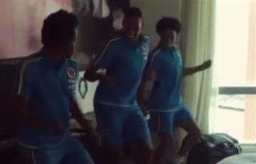 Selección Colombia: así bailan los jugadores previo al juego ante Perú