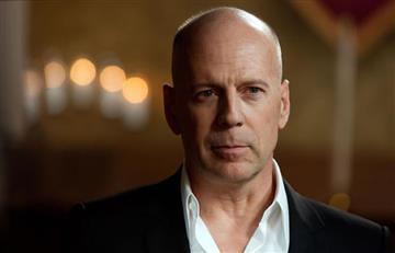 ¿Bruce Willis en el aeropuerto de Medellín?