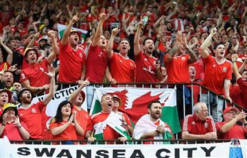 Eurocopa: Así lloraron lo galeses en la derrota con Inglaterra