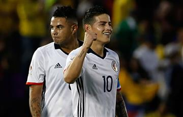 James Rodríguez y Edwin Cardona en el once ideal