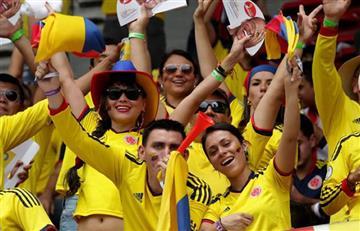 Ranking: Colombia entre los hinchas más fieles a su selección