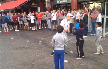VIDEO: 'Hooligans' humillan niños gitanos en la Eurocopa