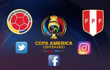 Colombia venció a Perú en redes sociales