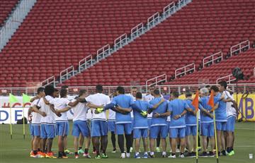 La Selección Colombia más unida, previo al partido contra Perú