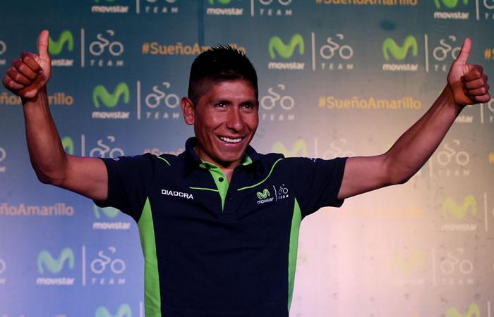 Nairo corre la Ruta del Sur y participará en el Tour de Francia. Foto: EFE