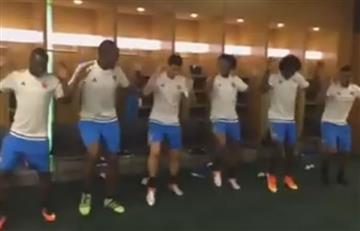 Selección Colombia: nuevo baile de los jugadores previo al juego con Perú