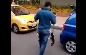 VIDEO: Hombre maltrata dos perros delante de la comunidad