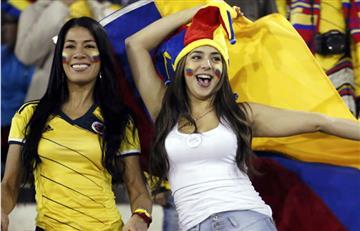Selección Colombia y la fiesta de la hinchada