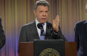 """Juan Manuel Santos: """"Si continúa la guerra tenemos que subir los impuestos"""""""