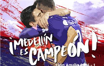 Medellín campeón y los hinchas de Junior desesperaron: mira los videos