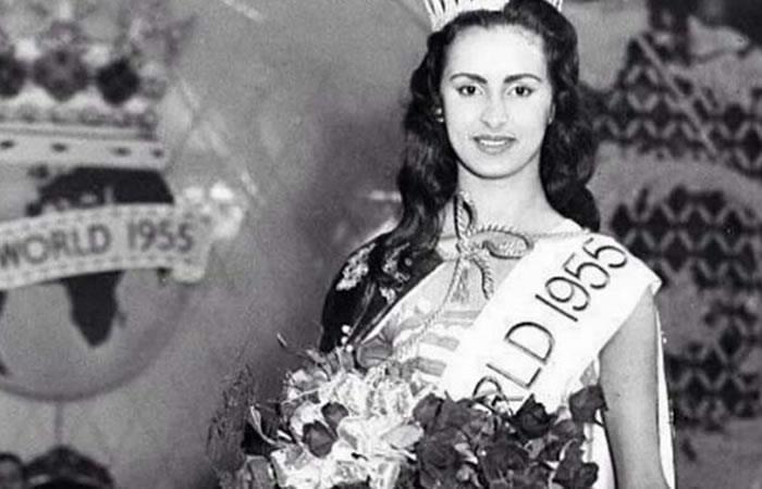 Falleció la primera Miss Mundo de Latinoamérica