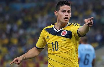 James Rodríguez nunca ha perdido contra Chile