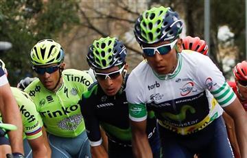 Nairo Quintana es cuarto en el UCI World Tour