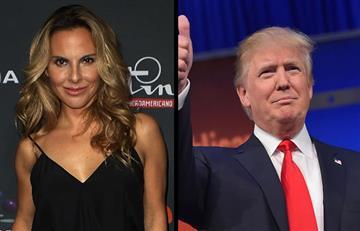 Twitter: Kate del Castillo cuestiona a Donald Trump