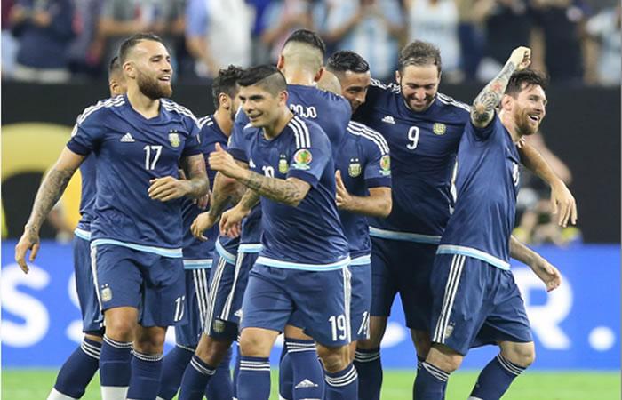 ¡Argentina pasó a la final!