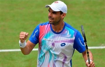 Debut triunfal de Alejandro Falla en Wimbledon
