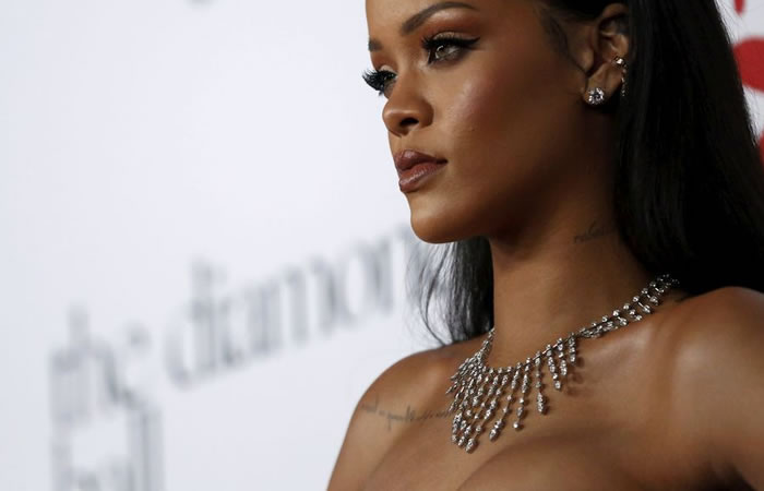 Cantante de Barbados, Rihanna. Foto: EFE