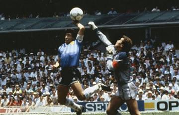 Maradona: el 'mejor gol del mundo' y la 'mano de dios' cumplen 30 años