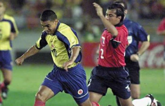 Colombia vs. Chile en Copa América 2001. Foto: Youtube