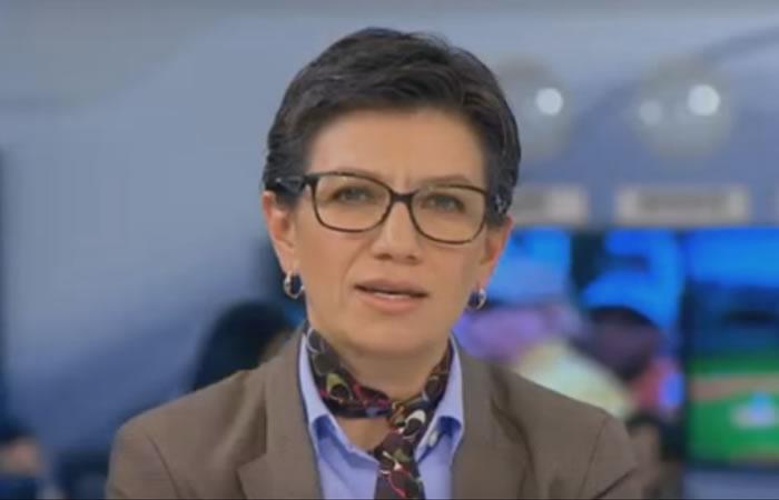 Claudia López le canta la tabla en vivo a RCN