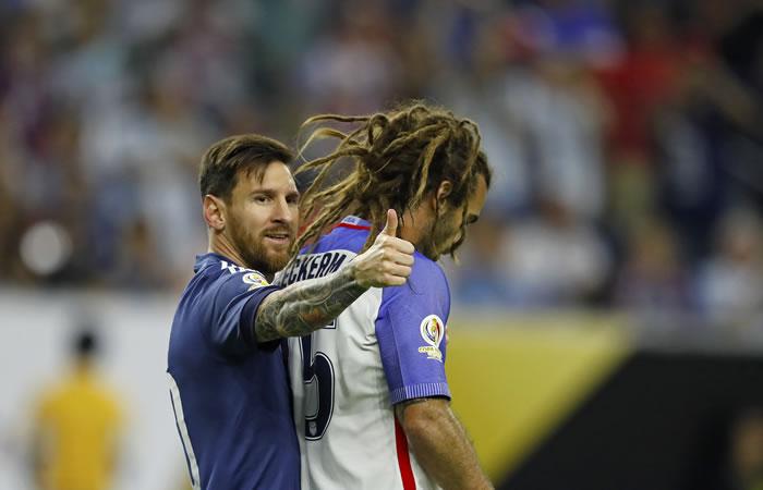 Messi lleva 5 goles anotados en esta Copa América. Foto: EFE