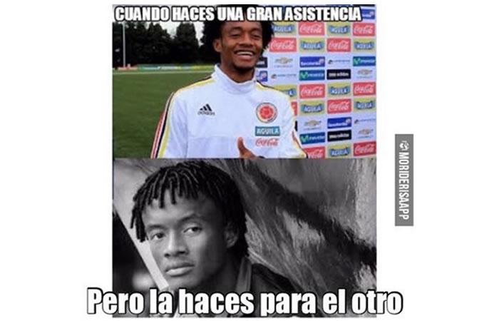 Copa América: los mejores memes que dejó la derrota de Colombia