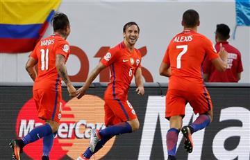 Copa América Centenario: con estos goles Chile eliminó a Colombia