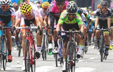 'Foto finish' en la etapa más larga de Vuelta Colombia