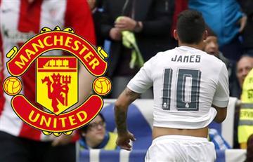 James Rodríguez a un paso del Manchester United