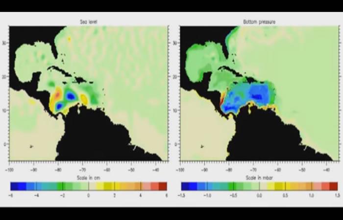 Surge extraño sonido del Mar Caribe hacia el espacio