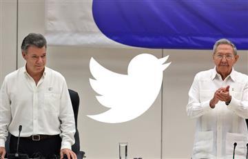 Twitter: Colombia dice ¡Adiós a la guerra!