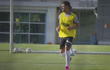 Falcao García volvió a los entrenamientos con Mónaco