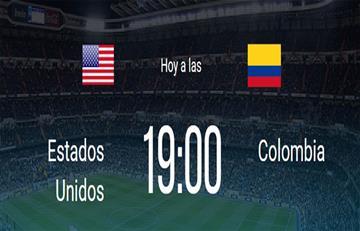 Colombia vs. Estados Unidos: Así llegan ambas selecciones