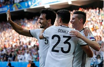 Alemania clasificó con goleada