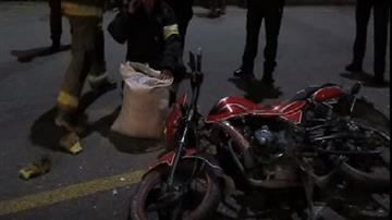 Dos muertos y un herido deja accidente en la vía Palermo