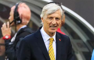 José Pékerman contento con la selección Colombia